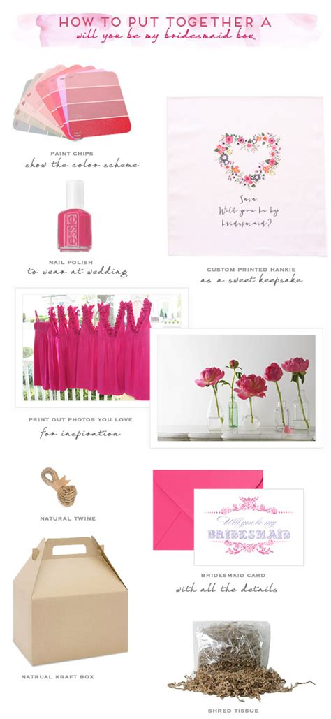 ideas to ask bridal ideas to ask bridesmaids to be in your wedding