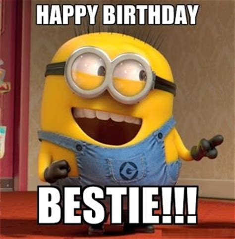 Minion Happy Birthday Wishes 40 Most Funny Happy Birthday Wishes Image Wallpaper Meme