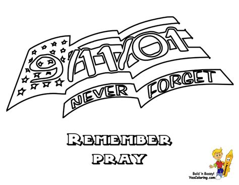 Fearless American Flag Coloring America Flags Free 911 Coloring Pages Preschoolers
