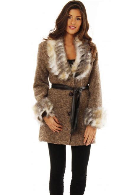 Cardi Denim Outerwear Wanita Terbaru rinascimento faux fur jacket rinascimento cardi coat buy rinascimento clothing designer