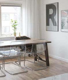 Acrylic Meja ikea tobias chair match with our kitchen table out with our chairs and in with the