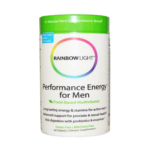 rainbow light performance energy rainbow light performance energy for food based