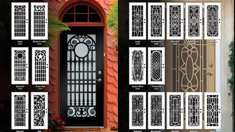 security screen doors in arizona exterior security