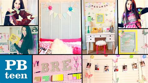 diy bedroom decorating ideas for teens diy pb teen inspired room decor easy cheap dollar