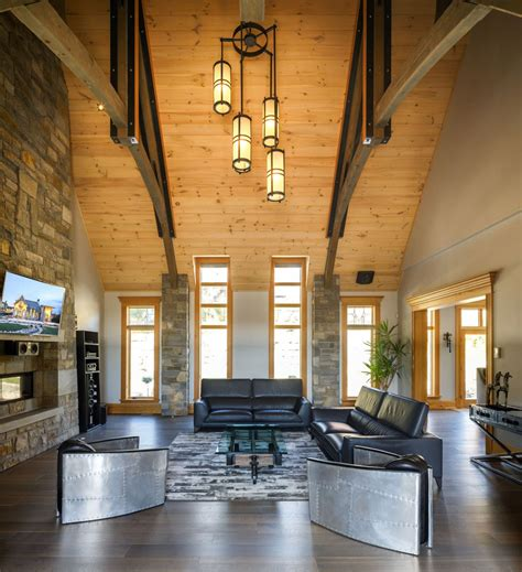 home interior design themes rustic contemporary mountain style home with innovative