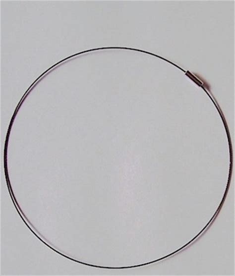 17 inch neck 249x necklace neck wire 17 inch black