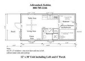 12x24 cabin floor plans 12 x 30 floor plan tiny house pinterest house