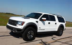 Ford Hennessey 2014 Ford Hennessey Velociraptor Suv Left Front Angle
