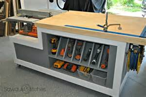Built In Patio Benches Diy Tables For Every Room In Your Home Her Tool Belt