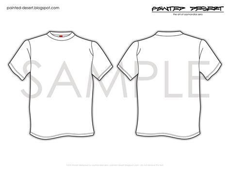 t shirt template print out by organiczero on deviantart