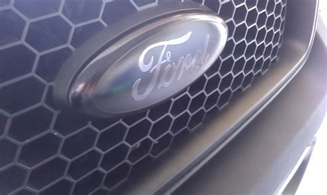 blacked out ford emblem blacked out emblems ford f150 forum community of ford