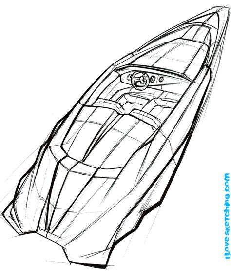 Speed Boat Coloring Pages free coloring pages of speed boat