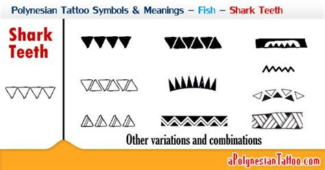 pattern company meaning picture showing the polynesian shark teeth symbol and its