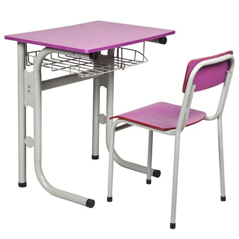 China Single Student Desk And Chair Sf 49a 2 Photos Student Desk And Chair