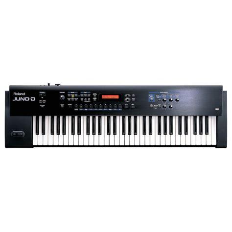 Keyboard Synthesizer schijf roland juno d keyboard synthesizer op gear4music