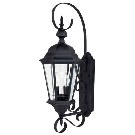 Outdoor Carriage Light Fixtures Carriage House Medium Black Outdoor Wall Mount Capital Lighting Fixture Company Wall Mount