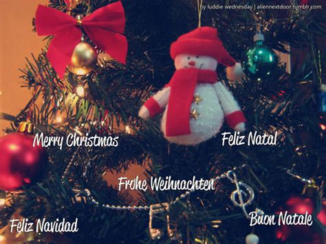 Merry Buon Natale Frohe Weihnachten by Next Door Aliennextdoor Buon Natale By Luddie