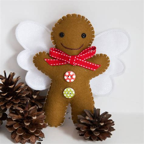 gingerbread tree toppers gingerbread tree topper by miss shelly designs notonthehighstreet