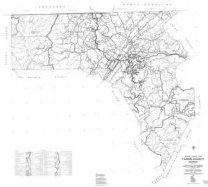 wildlife fannin county 1995 dot highway map georgiainfo