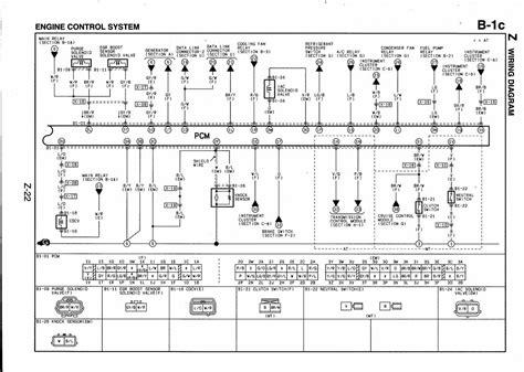 mazda  engine sensor diagram downloaddescargarcom