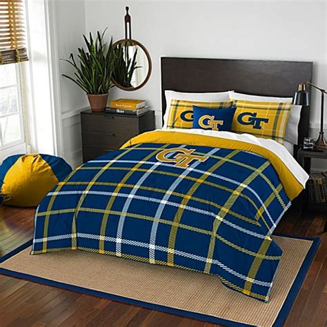 Uga Bedding Set Buy Tech Embroidered Comforter Set From Bed Bath Beyond