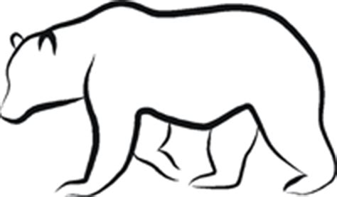 standing bear outline clipart panda free clipart images