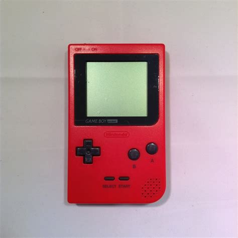gameboy console nintendo gameboy pocket console retroplayers