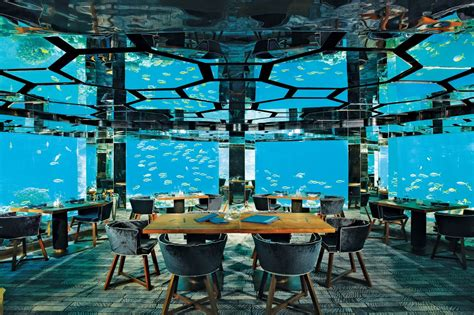 ithaa undersea restaurant prices maldives holiday tour huffpost cites ithaa undersea