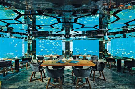 maldives ithaa underwater restaurant overwater villa maldives holiday tour huffpost cites ithaa undersea
