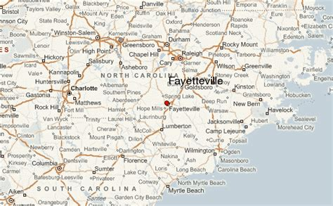 fayetteville location guide