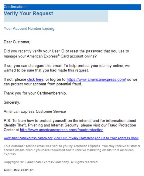 format email american express email phishing alert quot americanexpress welcome aexp com quot