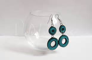 quilling earrings images black and blue quilled earrings 2 by velvetleaves on deviantart