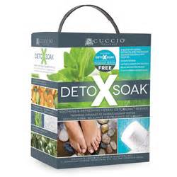 Cuccio Detox Soak Reviews by Detox Soak Kit 8pc Impact Salon Sales