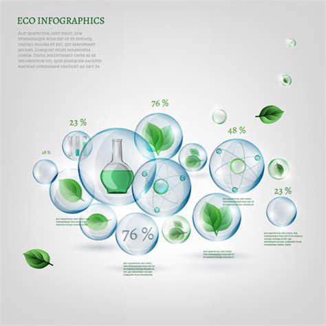 eco design elements vector eco infographics elements vectors graphics 13 vector