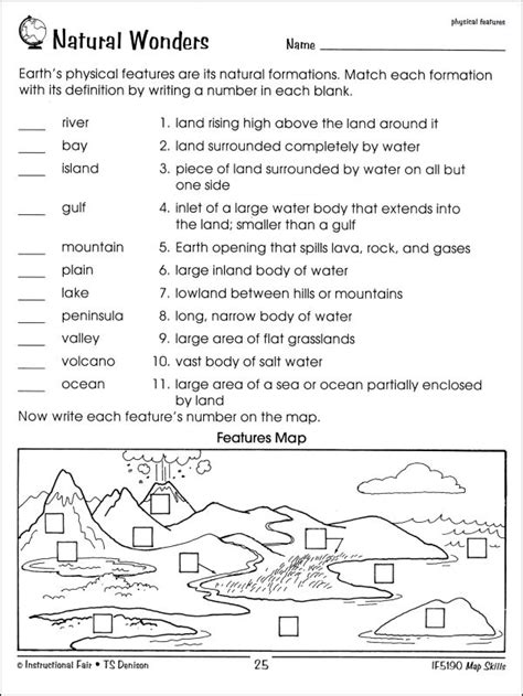 Map Skills Worksheets by Map Skills 3 001024 Details Rainbow Resource Center Inc