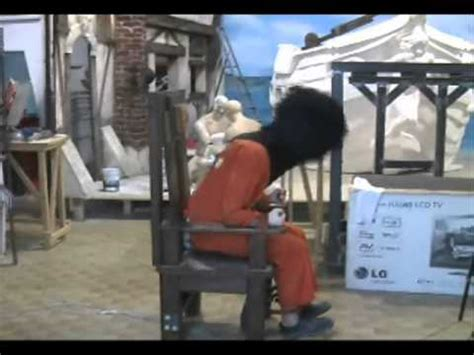 esecuzione sedia elettrica sedia elettrica entertech electric chair entertech