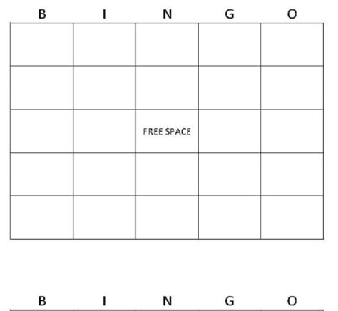 Bingo Card Maker Use Our Free Bingo Card Maker Free Template Maker