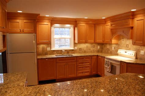 maple cabinets with granite countertops maple cabinets granite countertops 171 maloney contracting