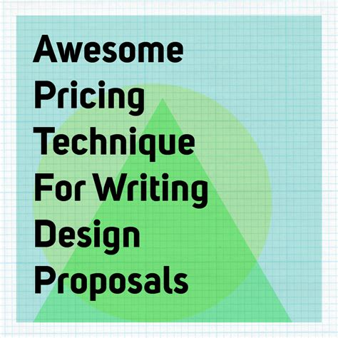 design proposal en espanol awesome pricing technique for writing design proposals
