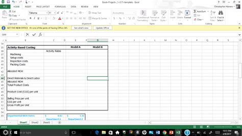 excel formula layout solved excel project s17 template excel home nsert page l