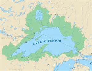lake maps lake superior michigan sea grant