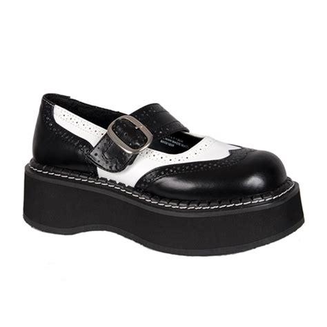 Emily Shoes demonia emily 302 wingtip shoes demonia shoes