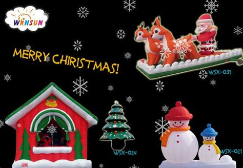 commercial hot sale outdoor animated christmas decorations