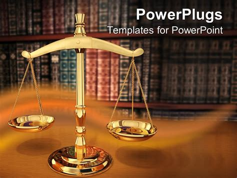 powerpoint templates for justice powerpoint template justice strength 18086