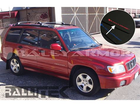 rally subaru forester rally armor ur mud flaps forester 1998 2002 rallitek com