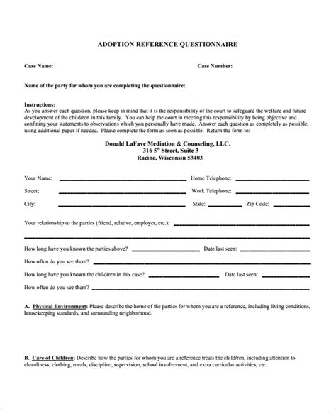 recommendation letter for adoption Read our top 10 tips for applying for adoption grants and loans top tips for applying for adoption grants & loans letters of reference.