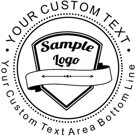 custom rubber logo st unique business logo self inking st simply sts
