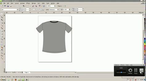 tutorial desain baju corel draw tutorial desain baju corel draw x 4 youtube