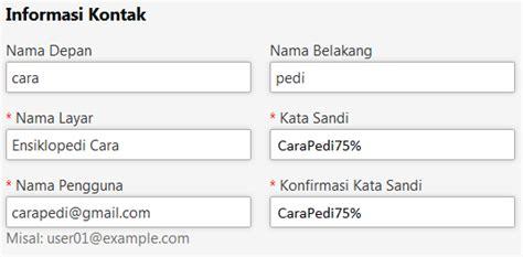 membuat email baru buat bbm cara daftar atau membuat akun id bbm baru