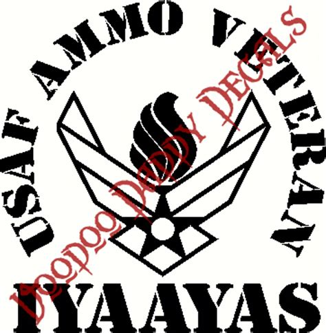 5 quot veteran symbol with flame and iyaayas decal